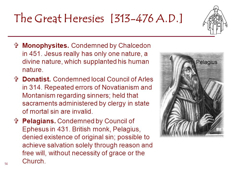 The Great Heresies [313-476 A.D.]